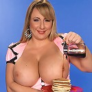 Huge Boobed Waitress