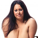 Madison Blush reveals her big 40L tits and licks her nipples