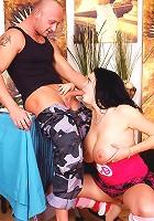 A very big busty girl banged hard