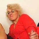 Making hot granny feel great