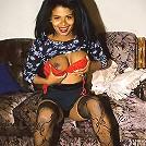 Pretty Ebony Tit-Fuck
